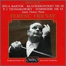 A.フィッシャー独奏 フリッチャイ指揮 バルトーク ピアノ協奏曲第3番&チャイコフスキー 交響曲第6番の商品写真