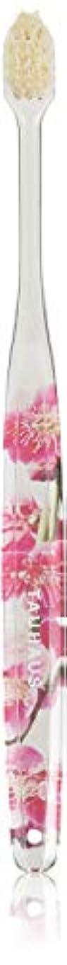 反逆重要な役割を果たす、中心的な手段となる大人Oluma 白馬毛歯ブラシ(梅の花)