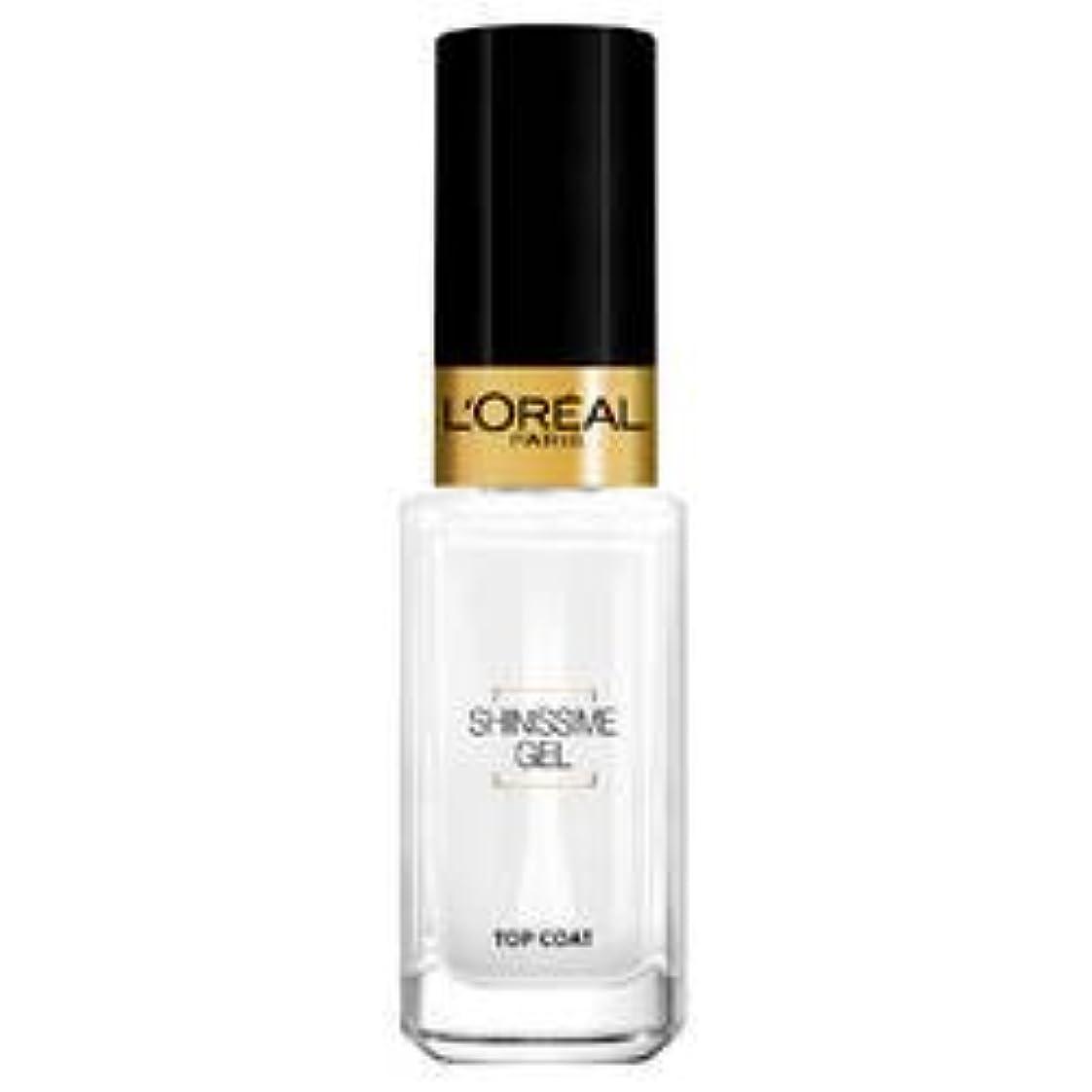 軽蔑するエゴイズム矩形L'Oréal Paris La Manucure - Le Top Coat - Shinissime Gel- (for multi-item order extra postage cost will be reimbursed)