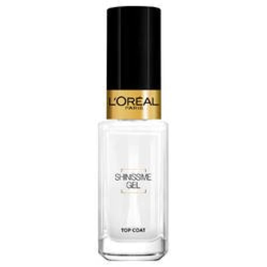 時制オートマトン改革L'Oréal Paris La Manucure - Le Top Coat - Shinissime Gel- (for multi-item order extra postage cost will be reimbursed)