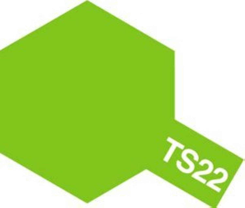 タミヤカラー スプレーカラー TS-22  ライトグリーン