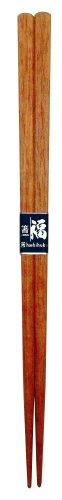 カワイ 『日本製の箸』 角みつろう仕上げ さくら 23cm...