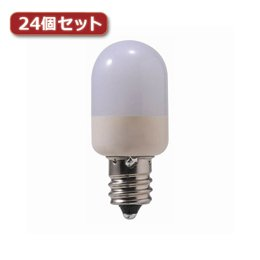 YAZAWA 3LED常夜灯橙24個セット LE3ORX24...