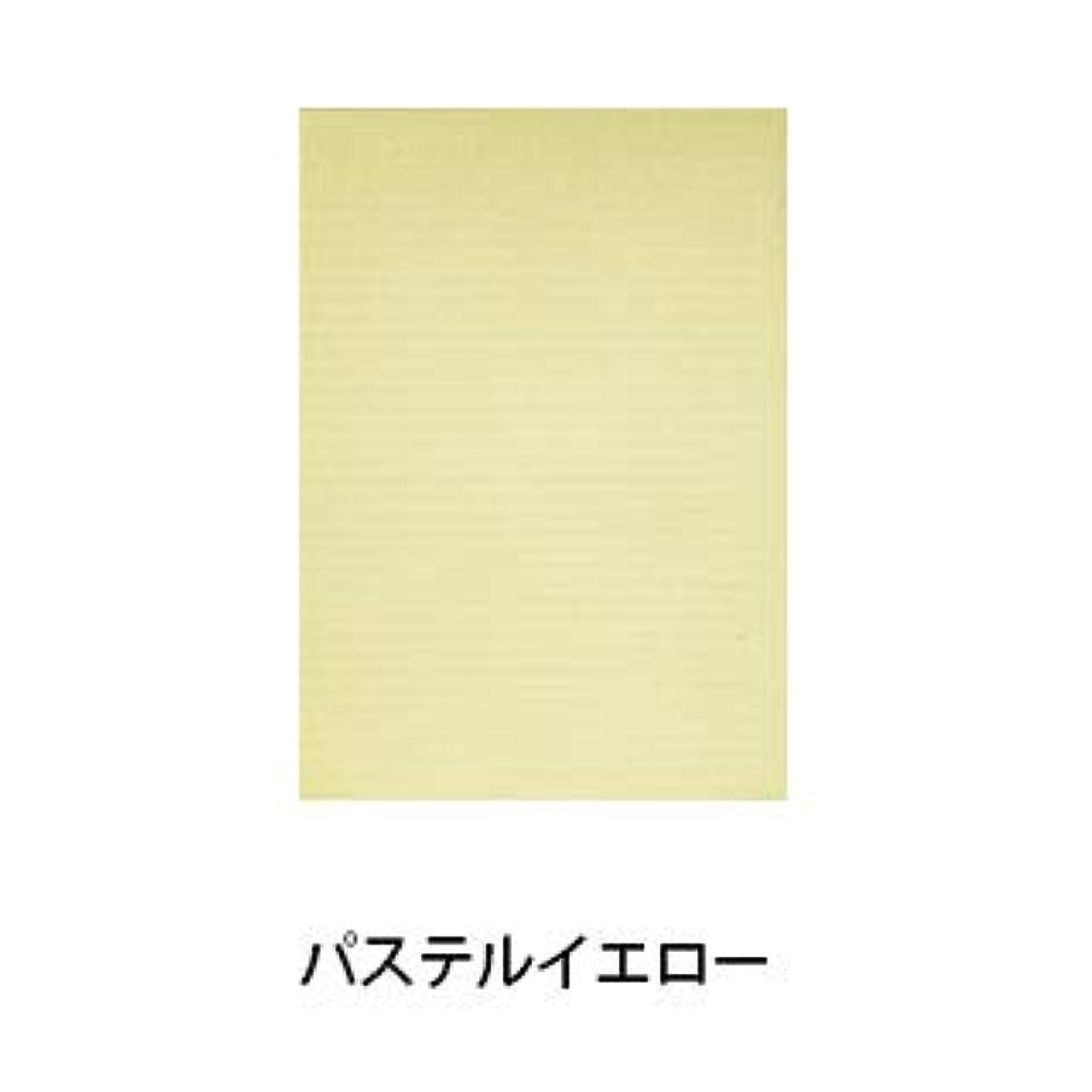 リース動粘り強い【パステルシリーズ】100枚入り ネイルシート ペーパークロス (パステルイエロー)