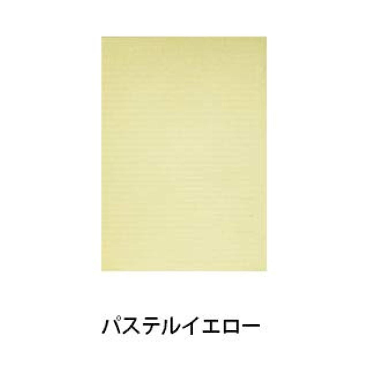 【パステルシリーズ】100枚入り ネイルシート ペーパークロス (パステルイエロー)