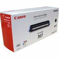 Canon (キャノン) トナーカートリッジ 307 黒 青 赤 黄 (純正品) LBP5000 / LBP5100