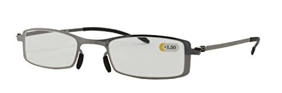 本当にマウント破壊POKE LIGHT (ポケライト) 超薄型 老眼鏡 +1.00 R-435MF +1.00