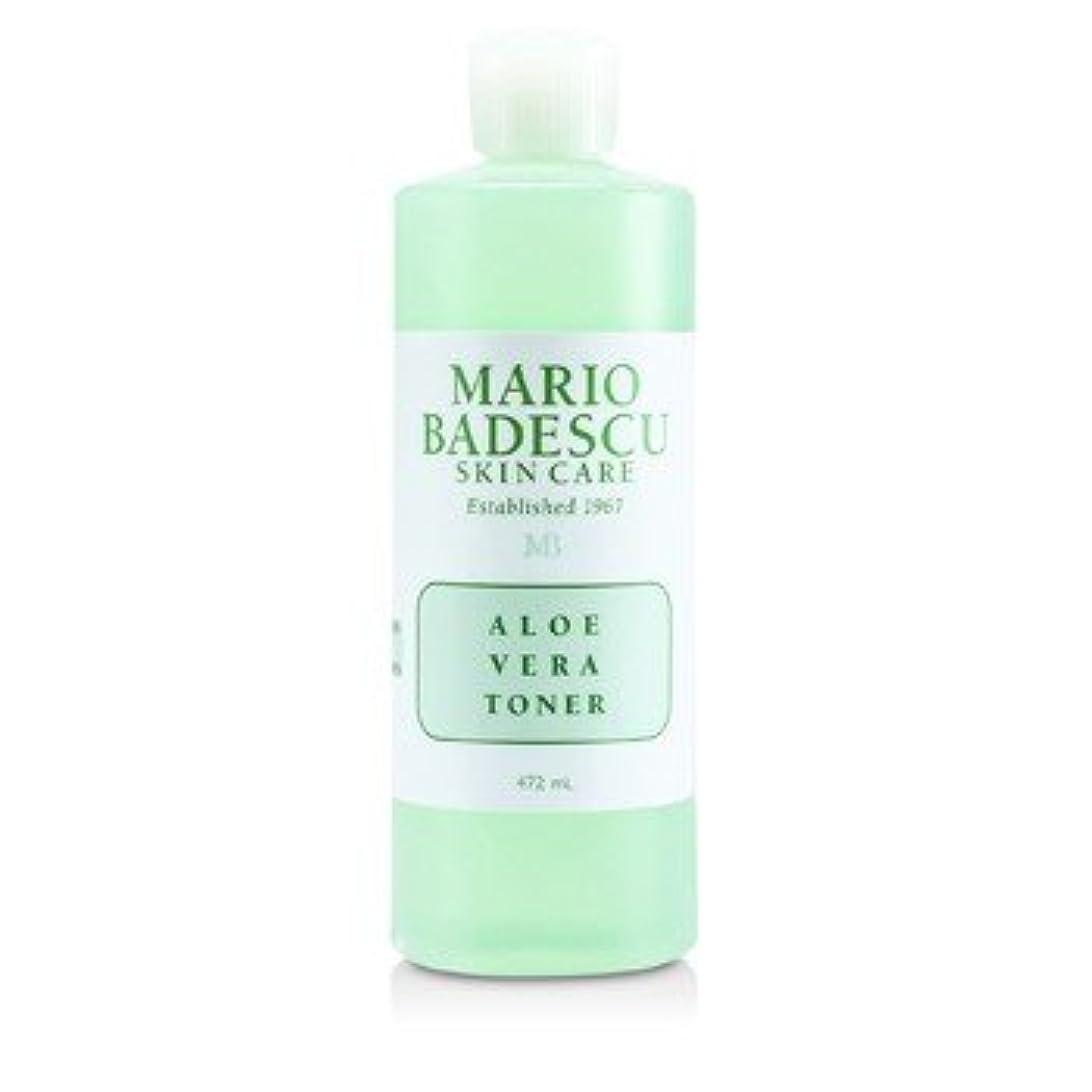 平日ノート邪悪な[Mario Badescu] Aloe Vera Toner - For Dry/ Sensitive Skin Types 472ml/16oz