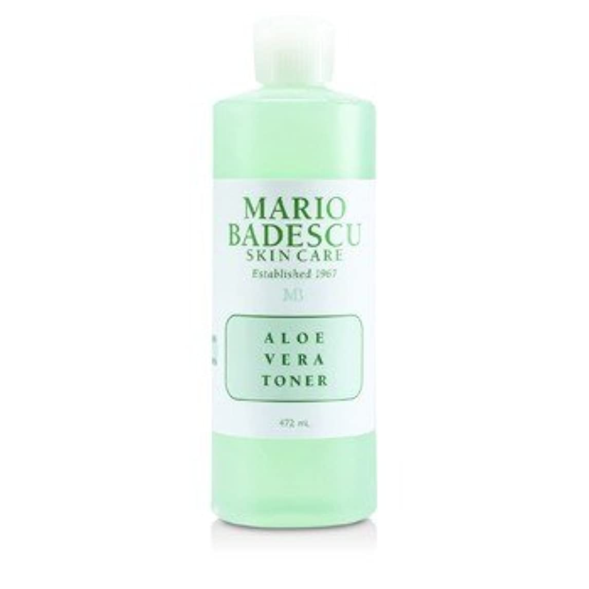 組み立てる死にかけている昇進[Mario Badescu] Aloe Vera Toner - For Dry/ Sensitive Skin Types 472ml/16oz