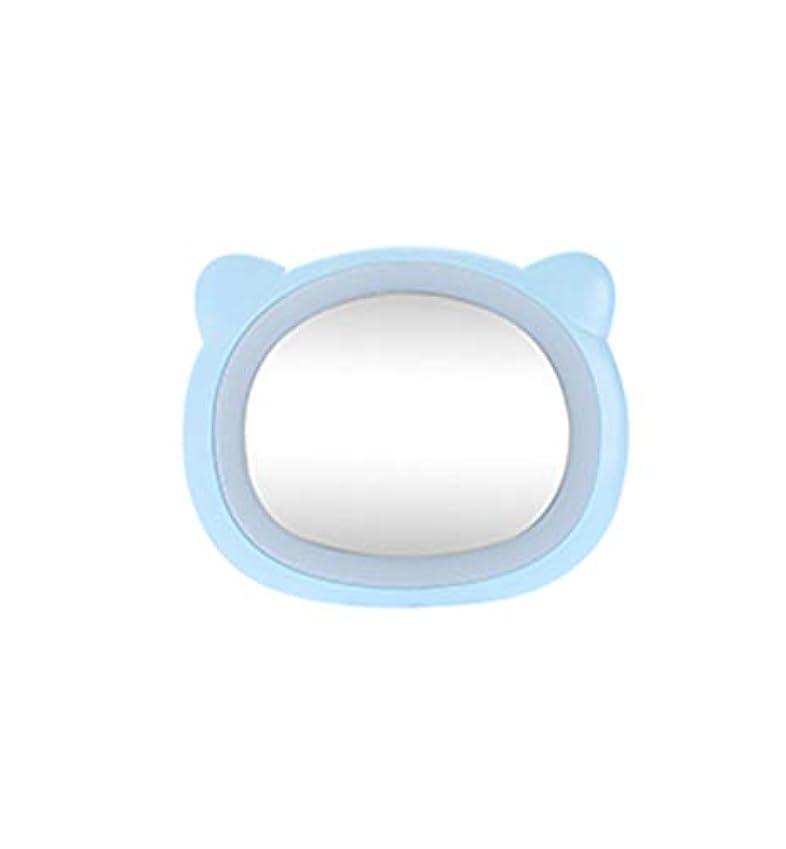 みなすスパイマーティンルーサーキングジュニア旅行化粧鏡コンパクトミラー付きLEDライト美容化粧品キャンプハンドヘルドライトUSB充電式