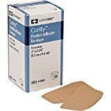 CURITY ADHESIVE BANDAGES 2 X 3.75 FLEXIBLE, BOX OF 50 by COVIDIEN