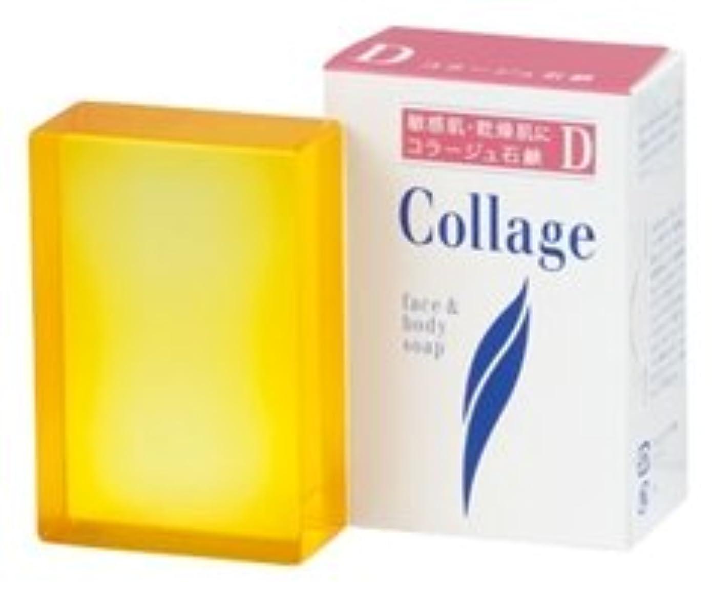 契約した保育園かすかなコラージュD乾性肌用石鹸100g×2 1342