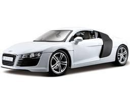 Audi (アウディ) R8 White 1/18 ダイキャスト モデルカー...