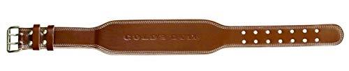 ゴールドジム(GOLD'S GYM) プロレザーベルト G3324 XL:95-105cm目安