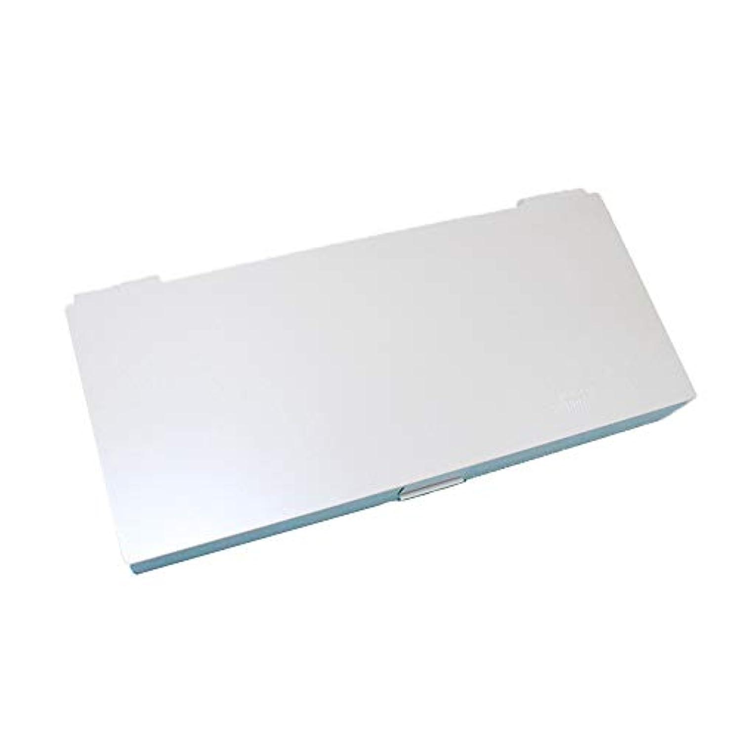 ヶ月目ハミングバード貼り直すスタイリングシステムボックス (ホワイト) ノンスリップ ヘアピン ケース コスメボックス メイクボックス メークボックス メイクケース メークケース