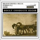 Conducts Elgar