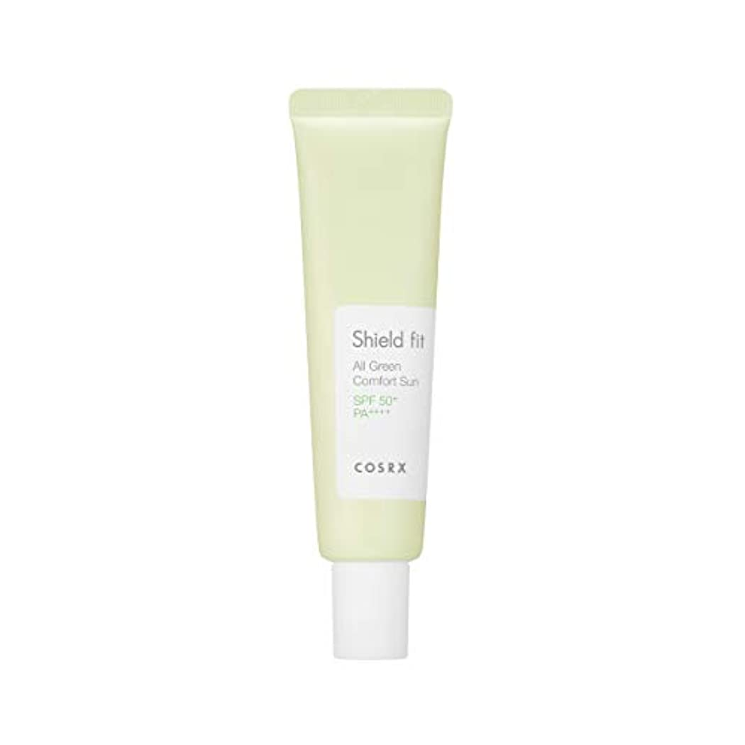 活力星配当COSRX シールド フィット オール グリーン コンフォート サン(無機系)/Shield fit All Green Comfort Sun (35ml) [並行輸入品]