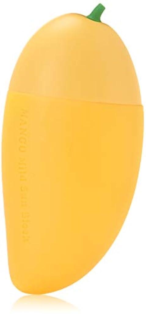 勇気似ている石膏TONYMOLY マジック食品マンゴーマイルドサンブロック、1オンス 16.0オンス