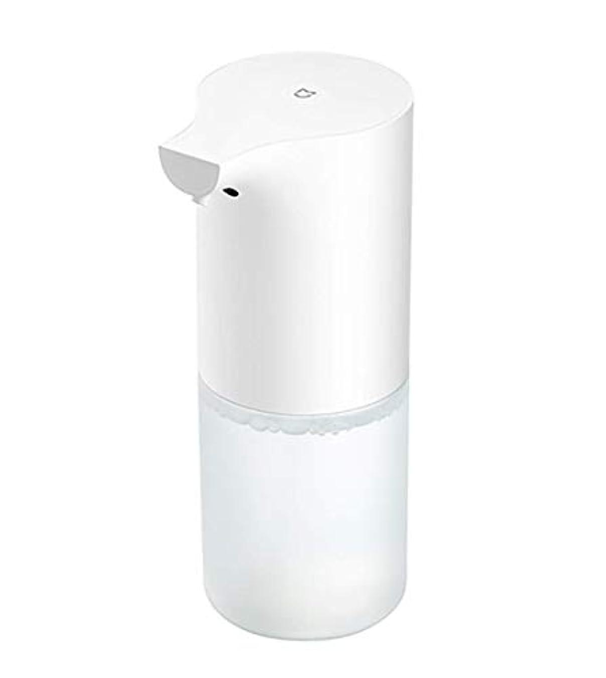 嘆願祝福する無礼に自動誘導発泡ハンドウォッシャーフォームソープディスペンサー赤外線センサーソープディスペンサー用浴室キッチン