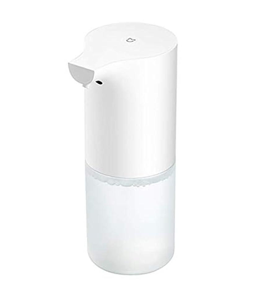 くるくる発掘作る自動誘導発泡ハンドウォッシャーフォームソープディスペンサー赤外線センサーソープディスペンサー用浴室キッチン