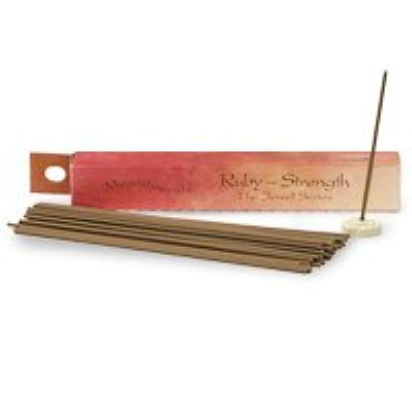荒涼としたクロス繁雑Shoyeido 's Ruby Incense、30 Sticks