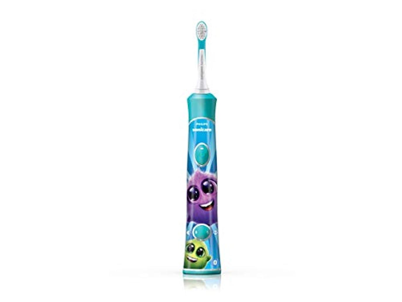 熟考する塗抹変位フィリップス ソニッケアー キッズ こども用電動歯ブラシ アプリ連動 HX6326/03