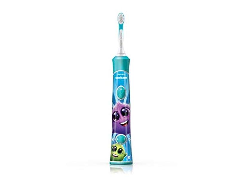 タフ適合するガウンフィリップス ソニッケアー キッズ こども用電動歯ブラシ アプリ連動 HX6326/03