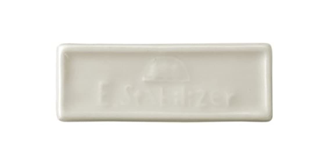 パールきしむトレーニング森修焼 森林浴 遠赤外線陶磁器 アーススタビライザーブレーカータイプ 縦23×横65(mm) 6セット