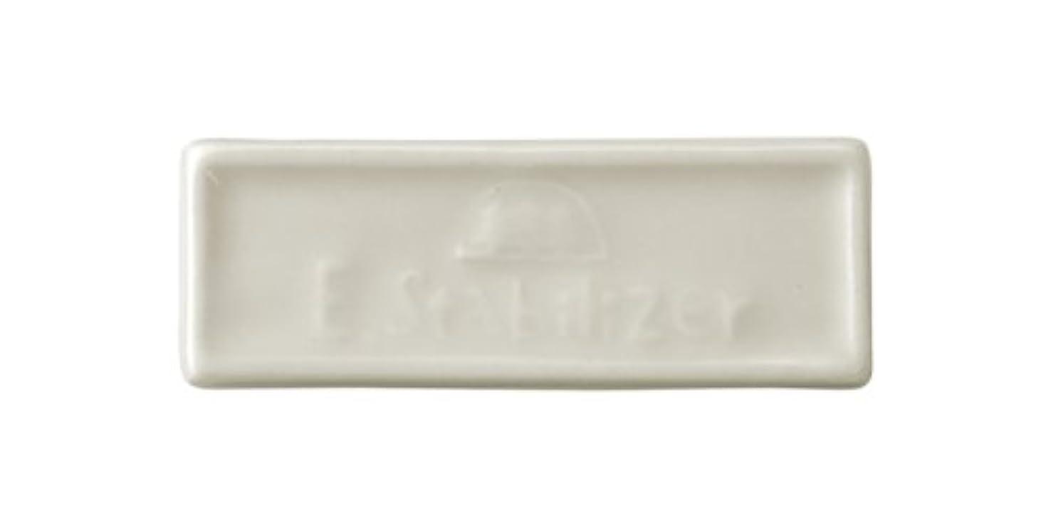 しないまだらどう?森修焼 森林浴 遠赤外線陶磁器 アーススタビライザーブレーカータイプ 縦23×横65(mm) 2セット