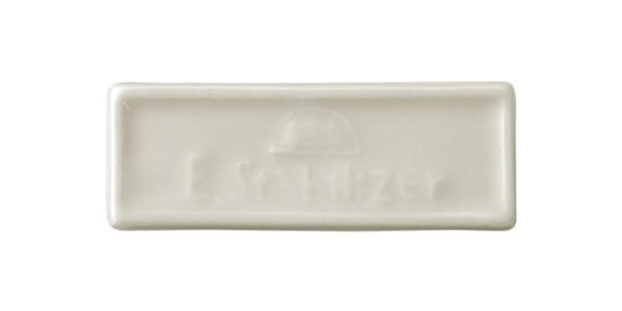 回転するオーガニック援助森修焼 森林浴 遠赤外線陶磁器 アーススタビライザーブレーカータイプ 縦23×横65(mm) 3セット