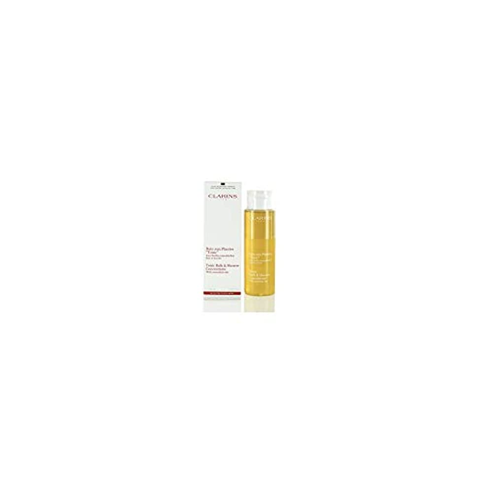 ささいなぼんやりした横向きClarins Tonic Bath and Shower Concentrate 200ml