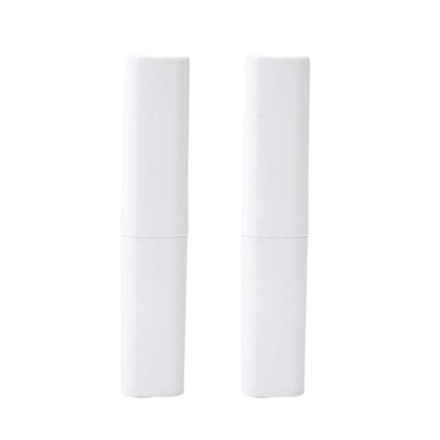 キロメートルクラス脈拍Healifty 旅行の歯ブラシケース屋外2ピース(白)のポータブル歯ブラシボックス