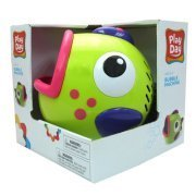Play Day Green Bubble Blowing Machine Toy [並行輸入品]