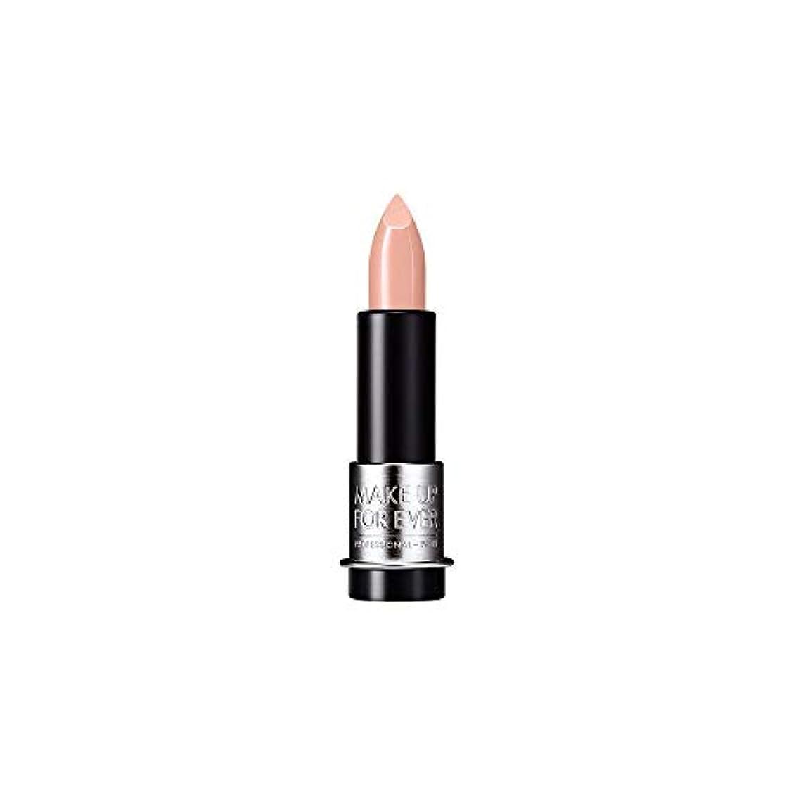 繊毛キノコストライプ[MAKE UP FOR EVER] ヌードベージュ - これまでアーティストルージュクリーム口紅3.5グラムのC103を補います - MAKE UP FOR EVER Artist Rouge Creme Lipstick...