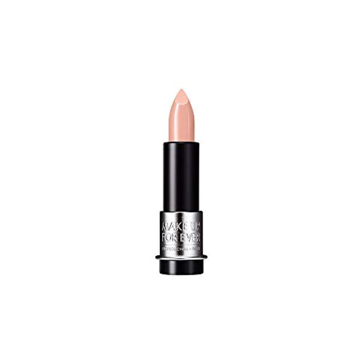 若さ通常抵抗力がある[MAKE UP FOR EVER] ヌードベージュ - これまでアーティストルージュクリーム口紅3.5グラムのC103を補います - MAKE UP FOR EVER Artist Rouge Creme Lipstick...