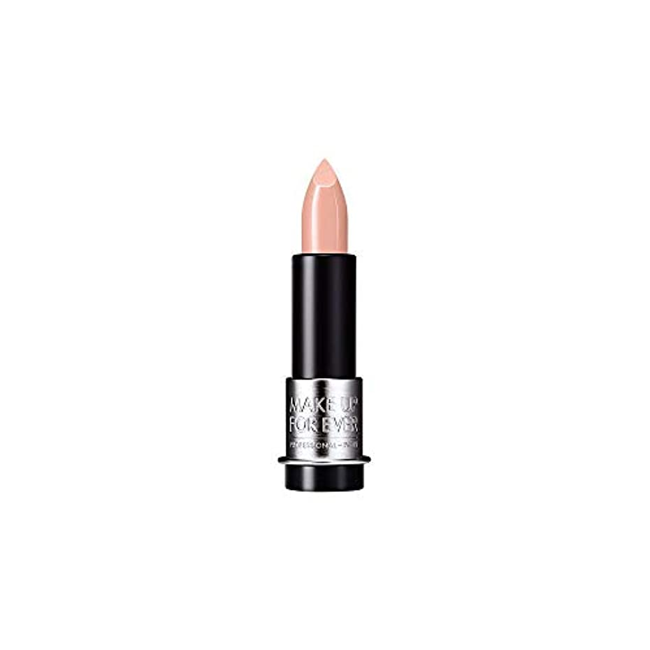 優先権華氏解説[MAKE UP FOR EVER] ヌードベージュ - これまでアーティストルージュクリーム口紅3.5グラムのC103を補います - MAKE UP FOR EVER Artist Rouge Creme Lipstick 3.5g C103 - Nude Beige [並行輸入品]