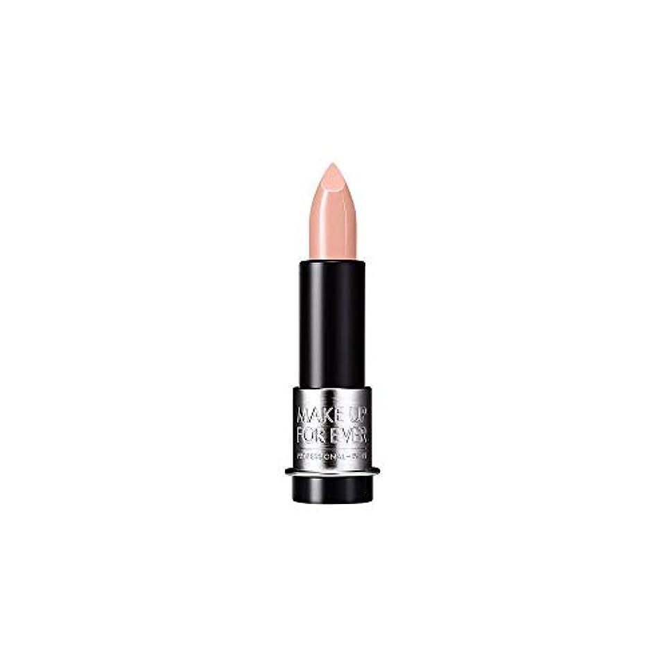 プーノアラビア語チャンピオンシップ[MAKE UP FOR EVER] ヌードベージュ - これまでアーティストルージュクリーム口紅3.5グラムのC103を補います - MAKE UP FOR EVER Artist Rouge Creme Lipstick...