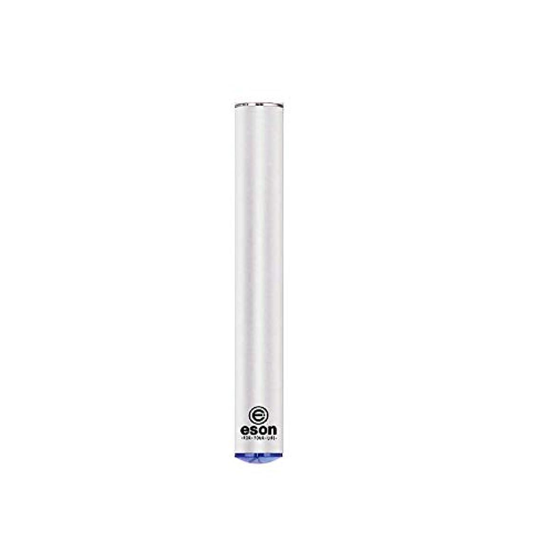 称賛正しくシャッフル電子タバコ ESONバッテリー?モッド 交換用電池 バッテリー リキッド?ニコチン無し 1本セット ホワイト WOLFTEETH 正規品