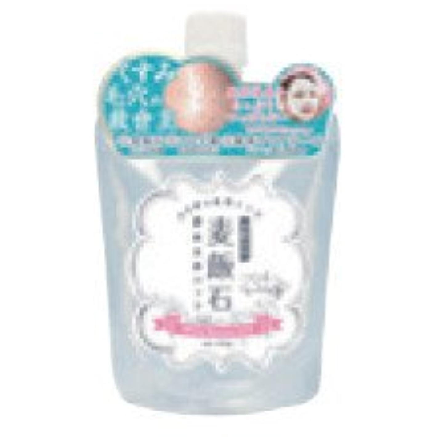 レーザ通り代表団ホワイトムースパック 美濃白川麦飯石酵素洗顔パック 100g 3個セット