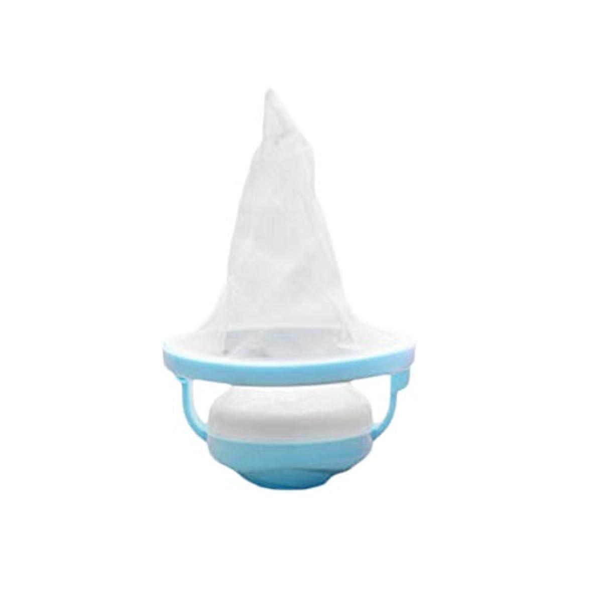 属するシュートスーダンSaikogoods ランドリー洗濯機ウールろ過脱毛ボール耐久性のある取り外し可能なメッシュフィルターバッグランドリーボール用品 青