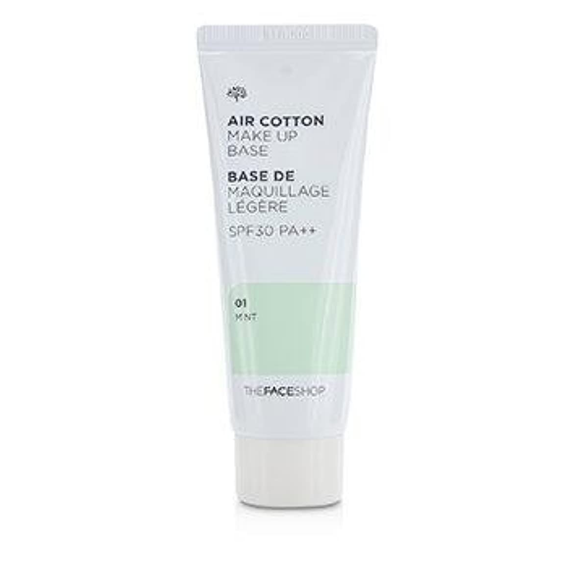 The Face Shop Air Cotton Make Up Base SPF30/PA++ 40ml #1 Mint