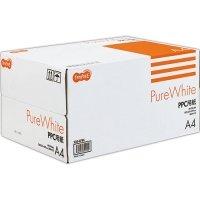 TANOSEE PPC用紙 Pure White A4 500枚×10冊/箱