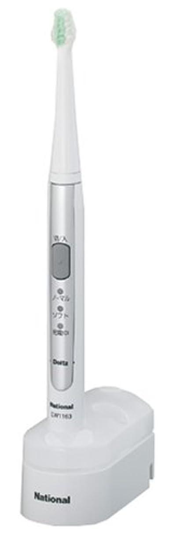 ピューリスク整然としたパナソニック ドルツ音波振動ハブラシ シルバー調 EW1163-S