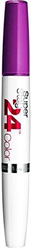 息苦しいかろうじて塩Maybelline Superstay 24h Lipgloss & Balm - 240 Plum Seduction by Maybelline