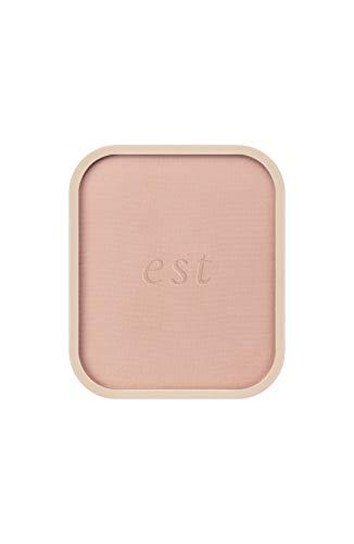 エスト エスト est パウダーファンデーション シルキースムース SPF22 PA+++ ピンクオークル03 9gの画像