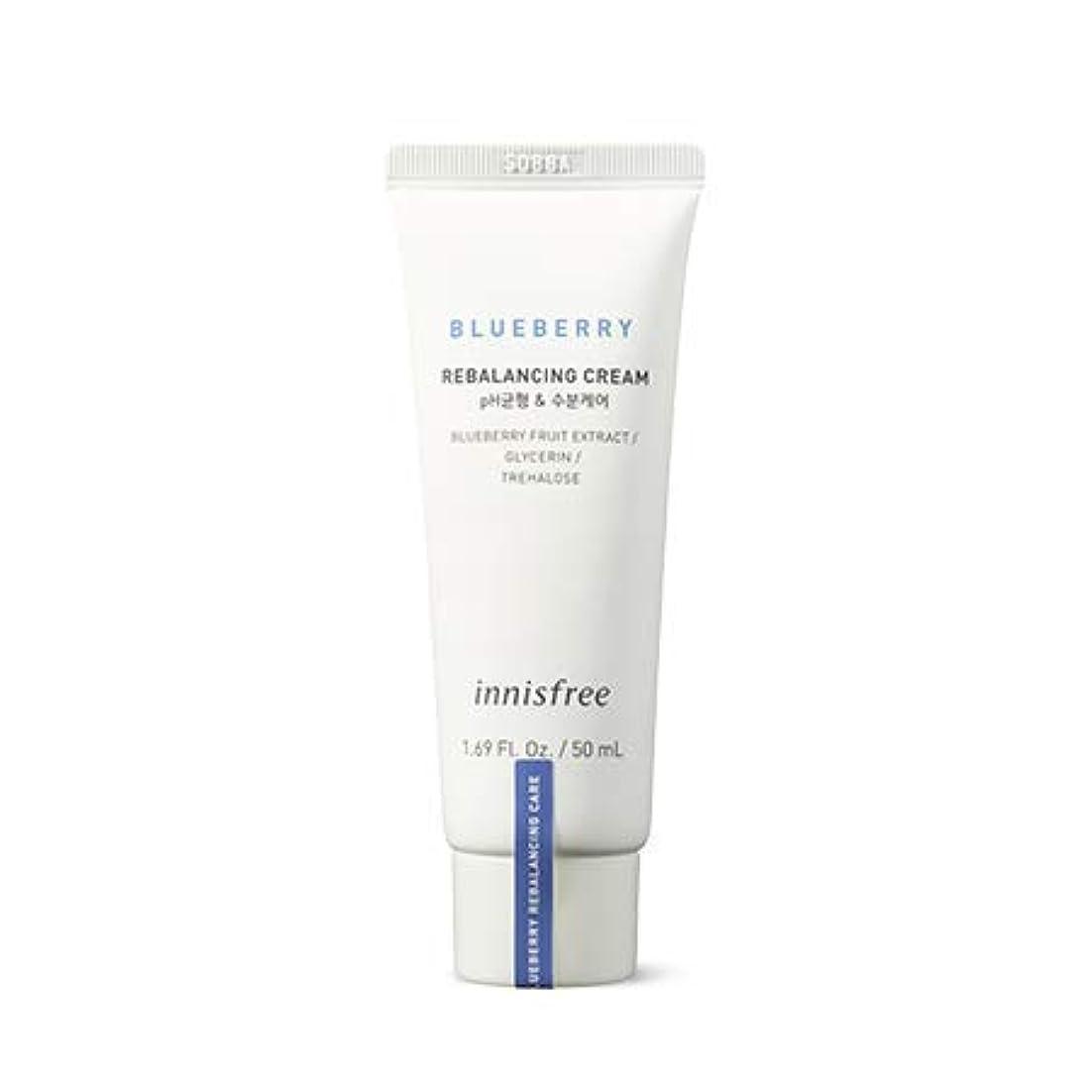 [イニスフリー.innisfree]ブルーベリーリバランシングクリーム50mL(2019新発売)/ Blueberry Rebalancing Cream