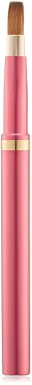 肘瀬戸際ダウン広島県熊野のメイクブラシ オートリップブラシ 平型 (ピンク) コリンスキー