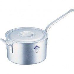 TKG(テイケイジイ)  アルミニウム(アルマイト加工)片手深型鍋(目盛付) 30cm AKT8230