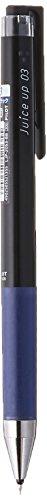 ゲルインキボールペン ジュースアップ ノック式 0.3mm【ブルーブラック】 LJP-20S3-BB