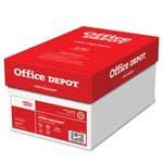 Office Depot ( R )ブランドホワイトコピー用紙、20lb。、104明るさ、81/入れ物X 11で。、10ケースReams